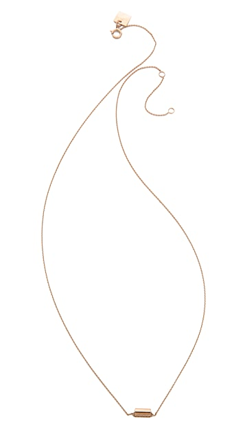 ginette_ny Mini Straw Necklace