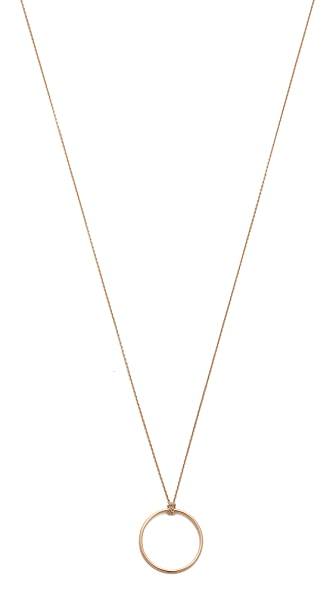ginette_ny Mini Circle Necklace