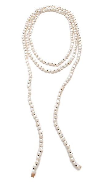 ginette_ny Natural Freshwater Pearl Sautoir Necklace