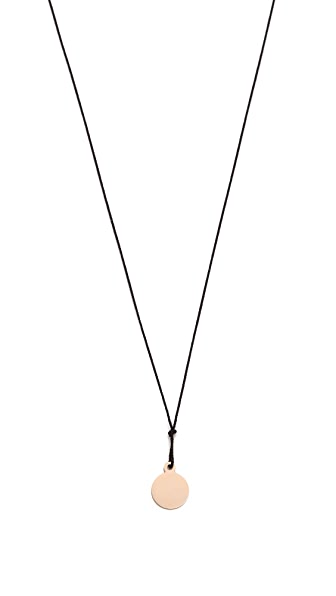 ginette_ny Mini Baby Disc Necklace