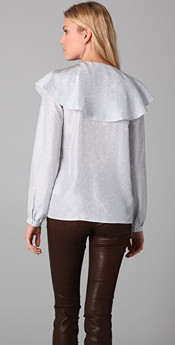 Girl. by Band of Outsiders Barnaby Blouse