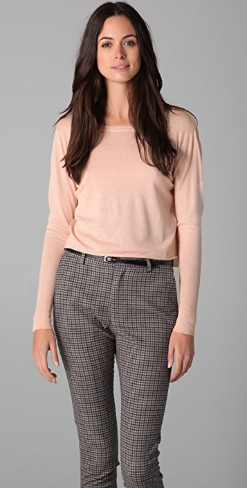 Girl. by Band of Outsiders Cowl Back Sweater