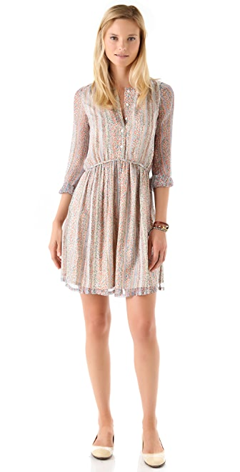 Girl. by Band of Outsiders Long Sleeve Babydoll Dress
