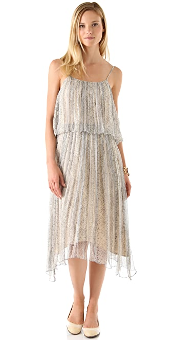 Girl. by Band of Outsiders Two Tiered Maxi Tank Dress