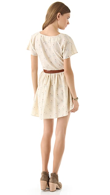 Girl. by Band of Outsiders V Neck Apron Dress