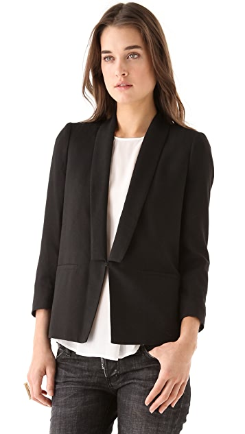 Girl. by Band of Outsiders Shawl Collar Jacket