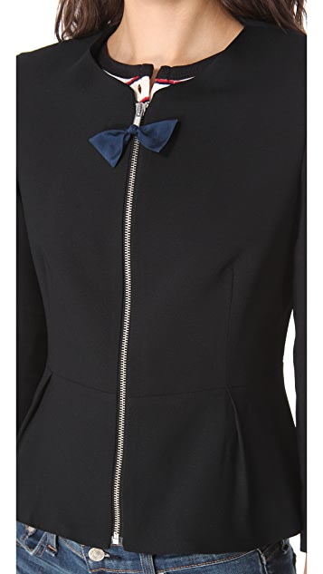 Girl. by Band of Outsiders Peplum Jacket