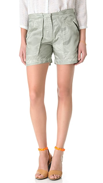 Girl. by Band of Outsiders Flight Shorts
