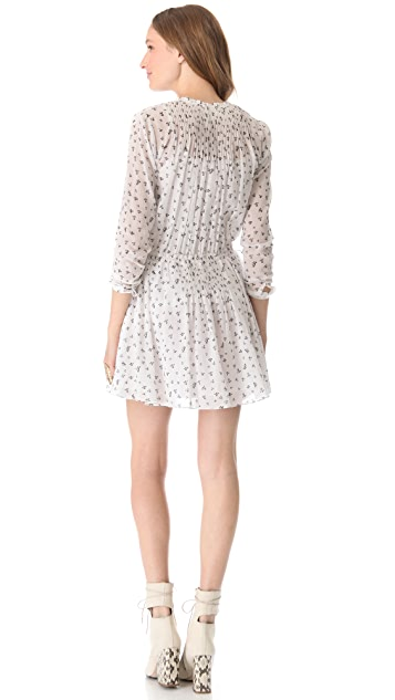 Girl. by Band of Outsiders Little Iris Pintuck Dress