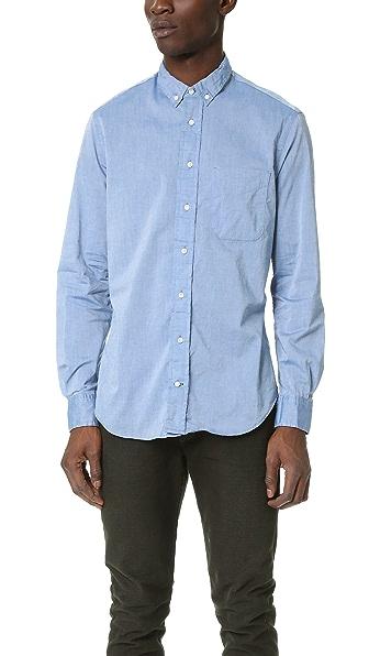 Gitman Vintage Chambray Oxford Shirt