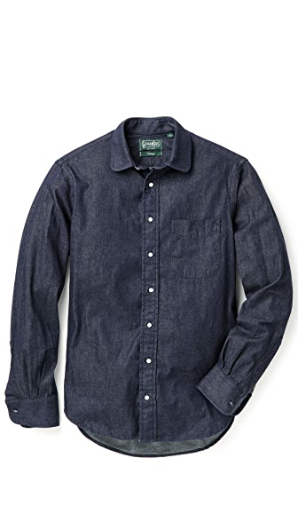 Gitman Vintage Japanese Denim Shirt