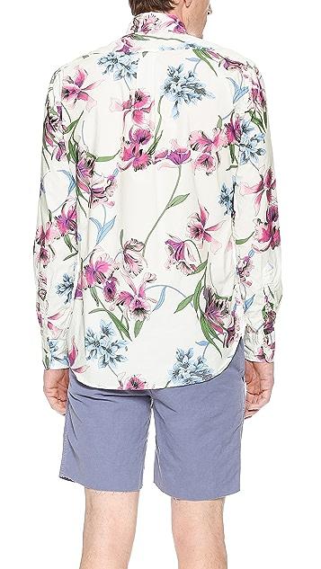 Gitman Vintage Bamboo Orchid Shirt