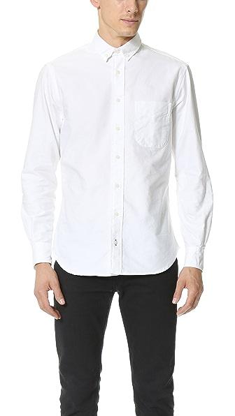 Gitman Vintage Seed to Sew Oxford Shirt