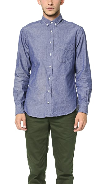 Gitman Vintage Seed to Sew Button Down Shirt