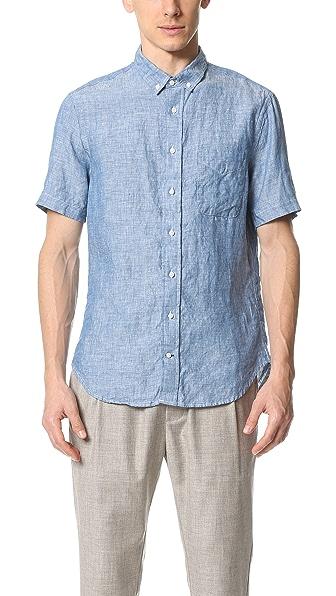 Gitman Vintage Short Sleeve Button Down Shirt