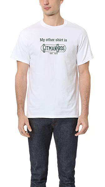 Gitman Vintage My Other Shirt Tee