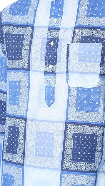Gitman Vintage Homage to Paisley Long Shirt