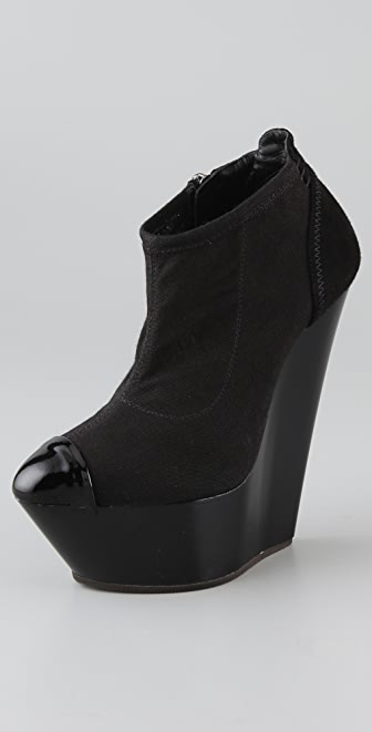 Giuseppe Zanotti High Platform Wedge Booties