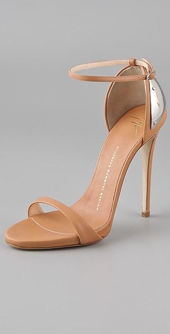 Giuseppe Zanotti Metal Counter Sandals