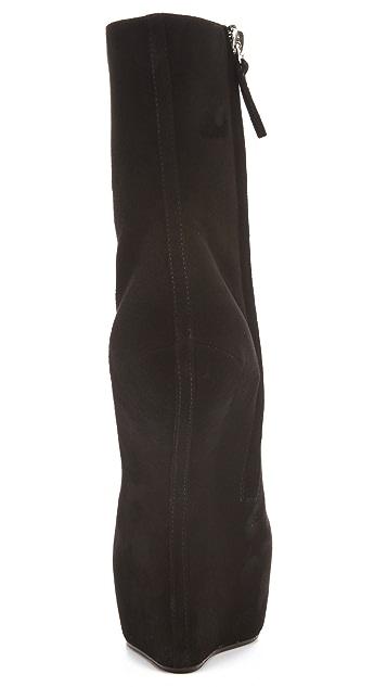 Giuseppe Zanotti Sculptural High Wedge Boots