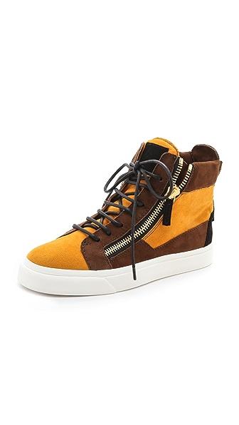 Giuseppe Zanotti Double Zip Sneakers