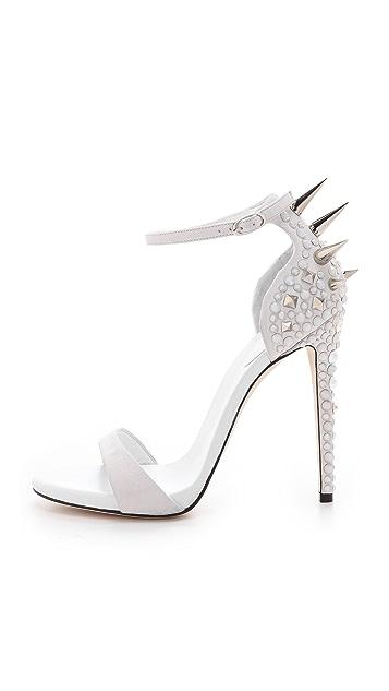 Giuseppe Zanotti Alien Crystal Spike Sandals