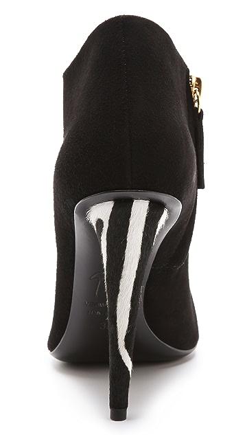 Giuseppe Zanotti Haircalf Heel Booties