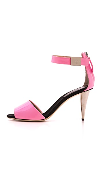 Giuseppe Zanotti Alien Patent Leather Sandals