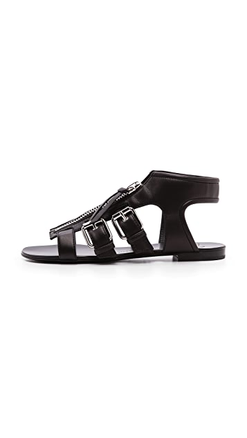 Giuseppe Zanotti Buckle Sandals