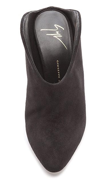 Giuseppe Zanotti Olinda Cutaway Heel Mules