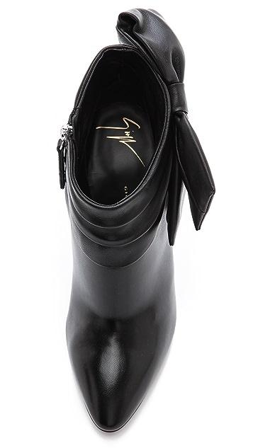 Giuseppe Zanotti Leather Booties