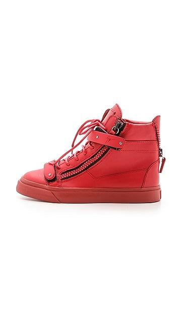Giuseppe Zanotti Zipper London Sneakers
