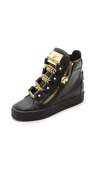 Giuseppe Zanotti Chain Up London Sneakers