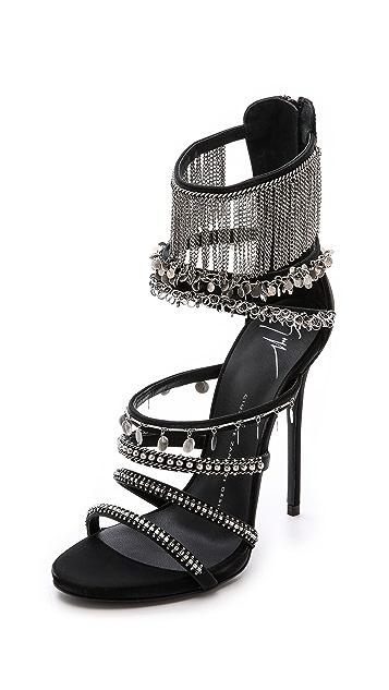 Giuseppe Zanotti Chained Platform Sandals