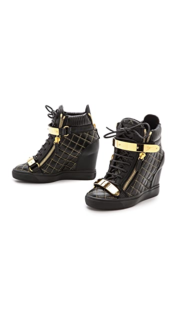 Giuseppe Zanotti Quilted Lorenz Sneakers