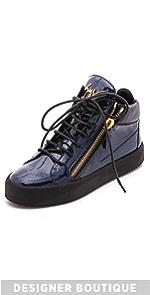 Patent Leather Sneakers                Giuseppe Zanotti
