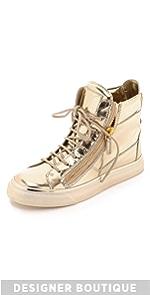 Leather Sneakers                Giuseppe Zanotti