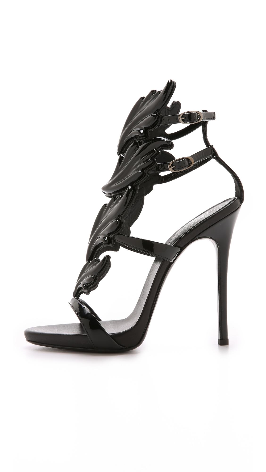 451af7e889139 Giuseppe Zanotti Metal Wing Sandals