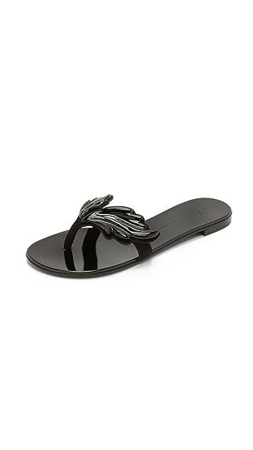 Giuseppe Zanotti Wing Sandals