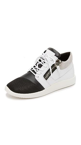 Giuseppe Zanotti Sneakers - Black/White