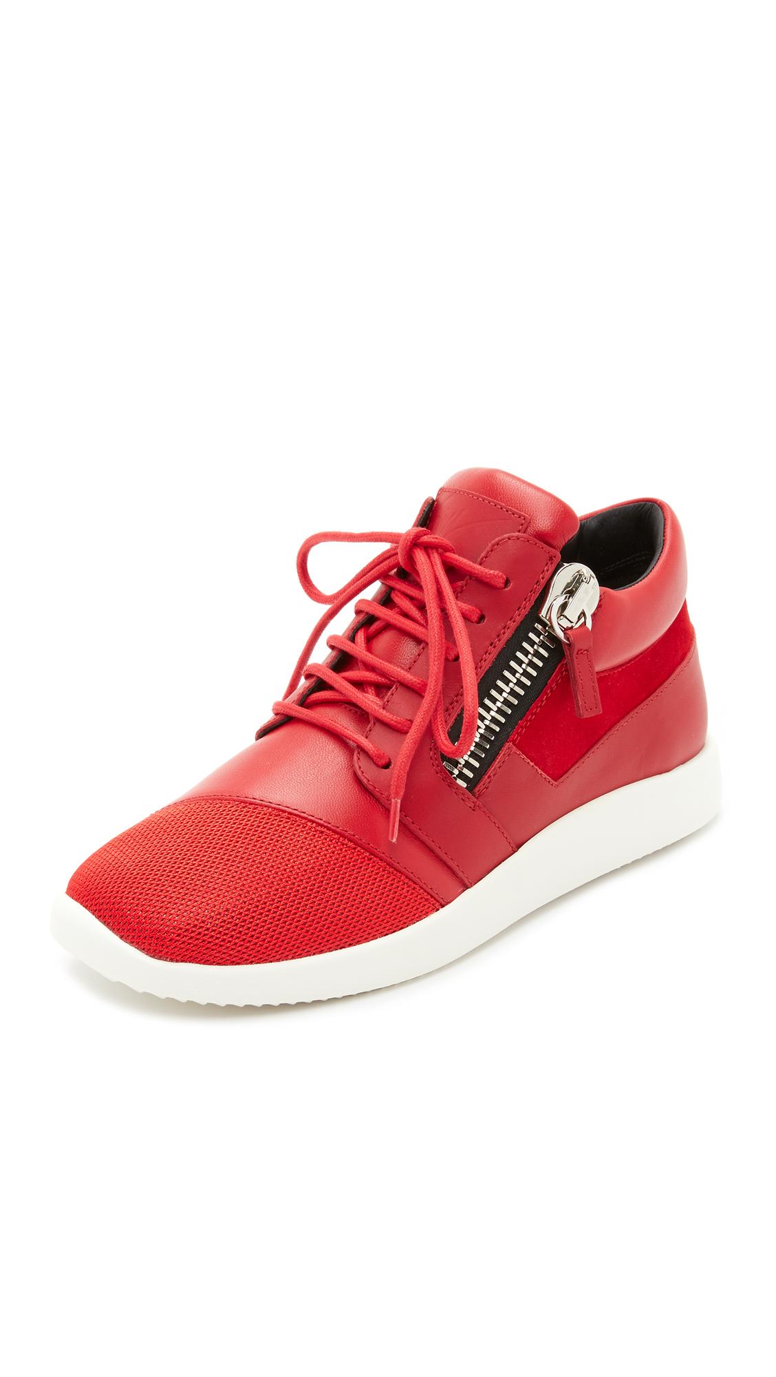Giuseppe Zanotti Sneakers - Red