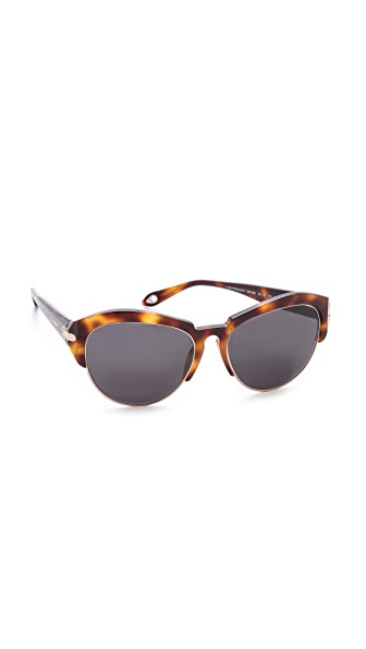 Givenchy Rimless Bottom Sunglasses