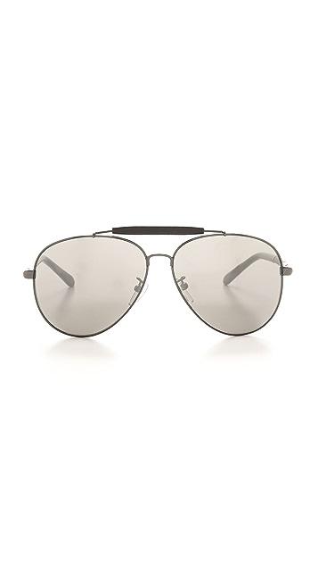 Givenchy Top Bar Aviator Sunglasses