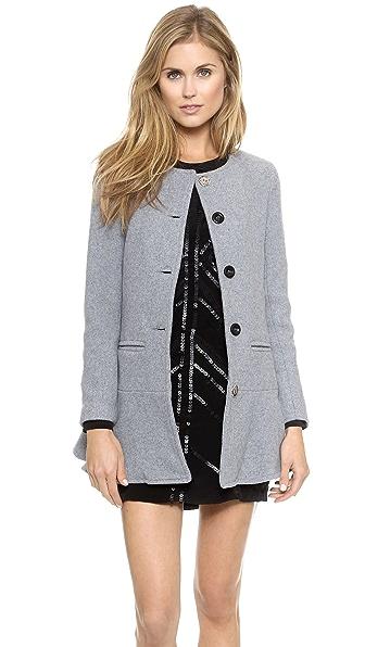 Glamorous Felt Coat
