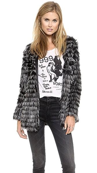 Glamorous Fringed Coat