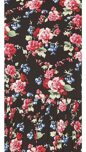 Glamorous Floral Lace Mini Dress