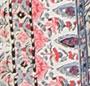Pink/Blue Floral Tile Print