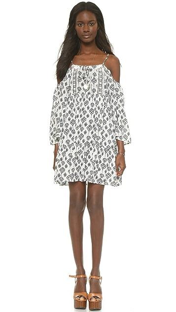Glamorous Cold Shoulder Mini Dress