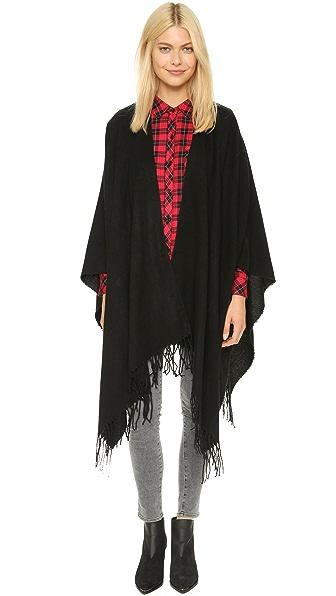 Glamorous Blanket Fringe Poncho
