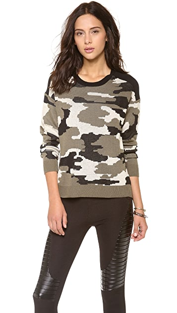 Generation Love Camouflage Sweater